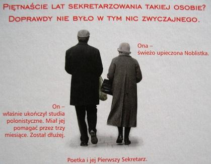 Wisaław Szymborska i MIchał Rusinek