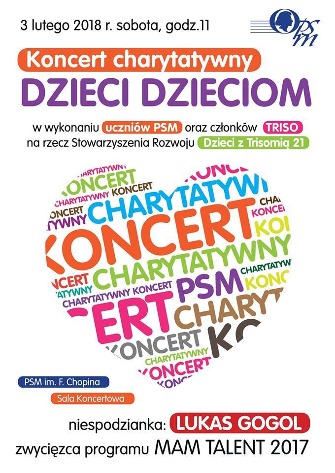 koncert charytatwyny w skzole muzycznej