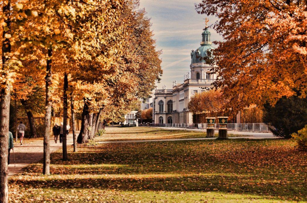 jesień w Berlinie