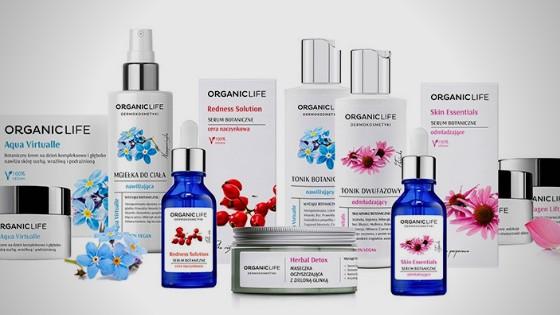 dermokosmrtyki polskiej firmy Organic Life